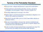 tyranny of the petrodollar standard