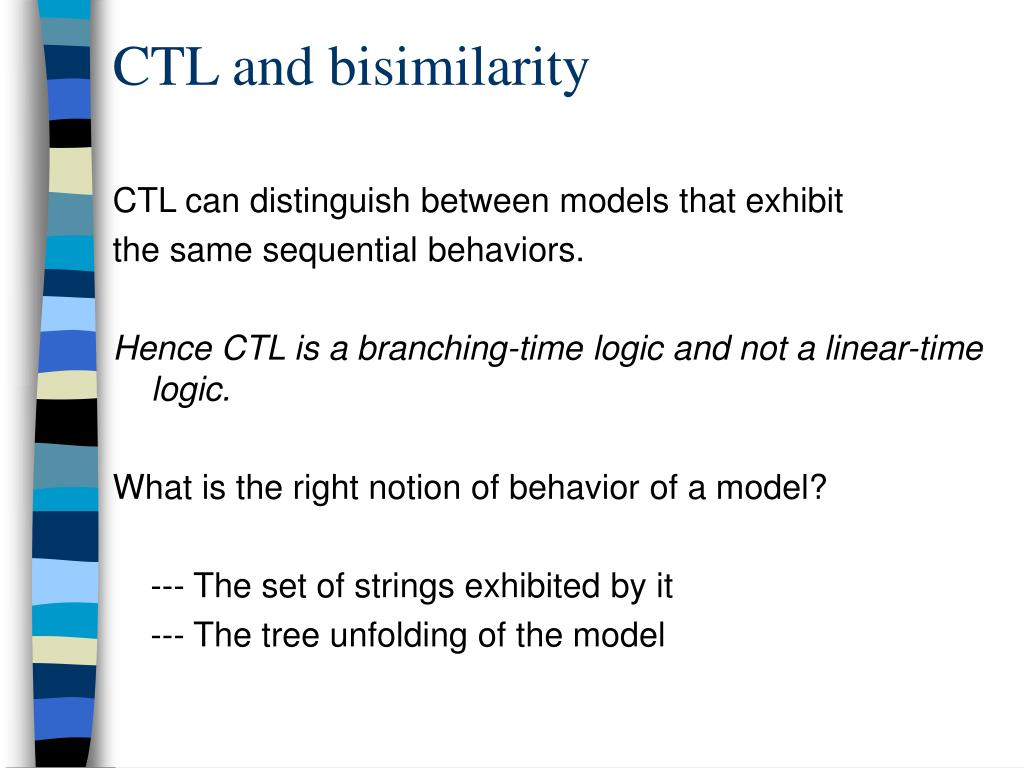 CTL and bisimilarity