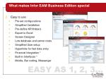 what makes infor eam business edition special6