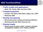 ns2 functionalities