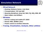 simulation network