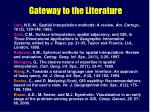 gateway to the literature