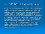 s 1006 061 florida statutes