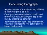concluding paragraph10