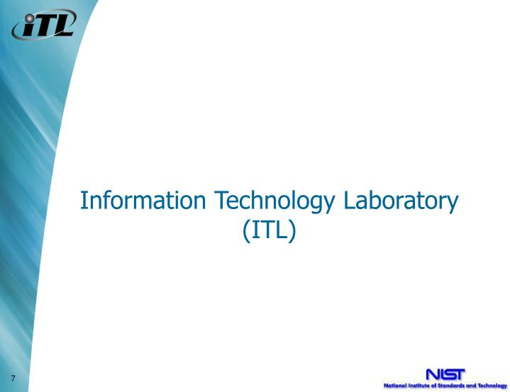 Information technology laboratory itl