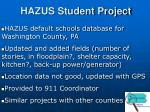 hazus student project