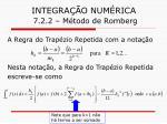 integra o num rica 7 2 2 m todo de romberg16