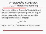 integra o num rica 7 2 2 m todo de romberg19