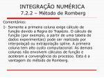 integra o num rica 7 2 2 m todo de romberg27