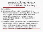 integra o num rica 7 2 2 m todo de romberg28