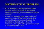 mathematical problem