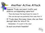 another active attack