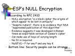 esp s null encryption