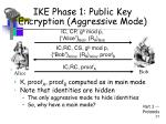 ike phase 1 public key encryption aggressive mode