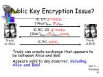 public key encryption issue39