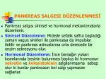 pankreas salgisi d zenlenmes
