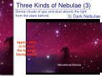 three kinds of nebulae 3