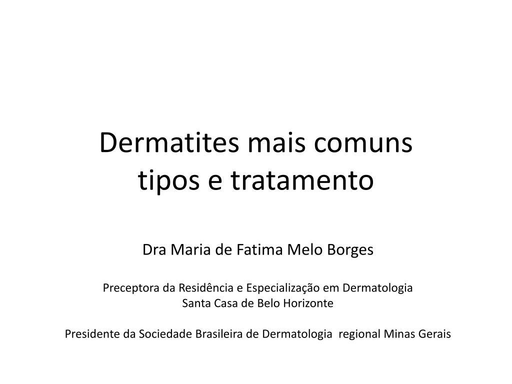 dermatites mais comuns tipos e tratamento l.