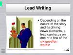 lead writing6