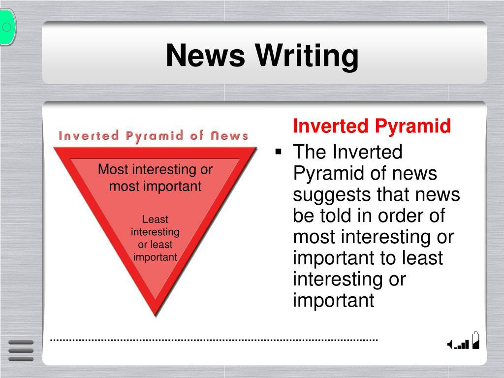 news writing l.