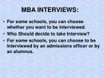 mba interviews3