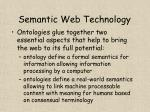 semantic web technology18