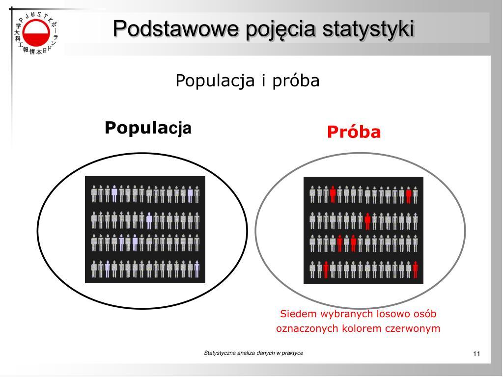 Podstawowe pojęcia statystyki