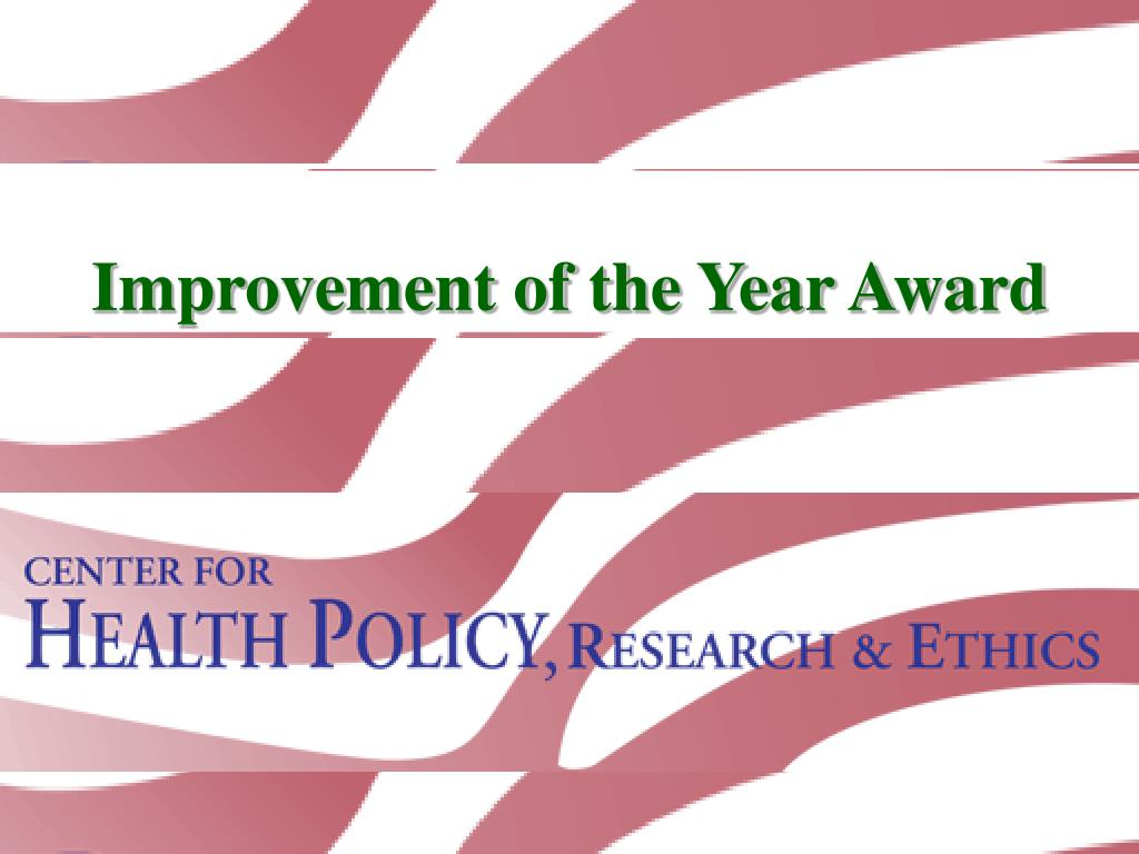 improvement of the year award l.