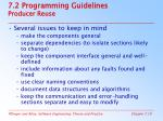 7 2 programming guidelines producer reuse