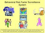 behavioral risk factor surveillance system8