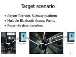 target scenario