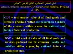 gross domestic product gdp and gross national product gnp