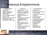 historical enlightenments