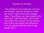 impacts on society