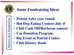 some fundraising ideas