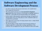 software engineering and the software development process22