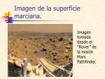 imagen de la superficie marciana