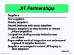 jit partnerships