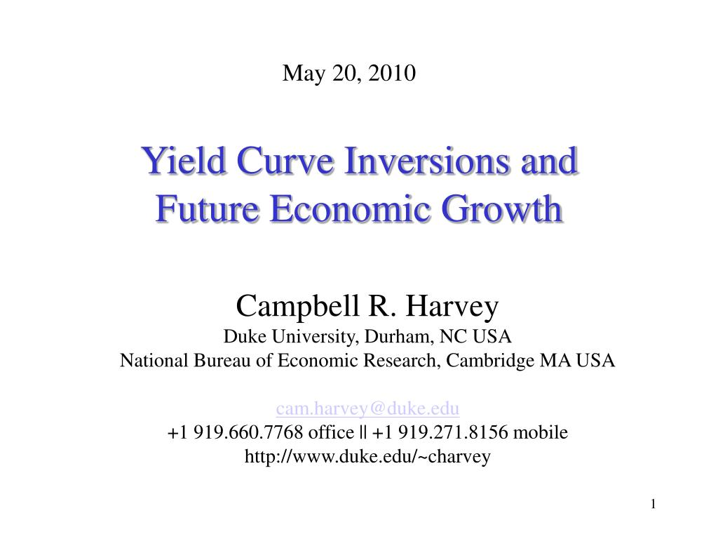 yield curve inversions and future economic growth l.