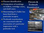 firearm toolmark examination