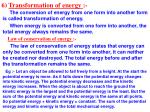 6 transformation of energy