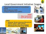 local government initiative sragen