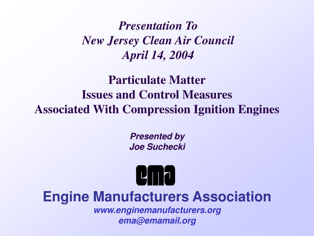 presentation to new jersey clean air council april 14 2004 l.