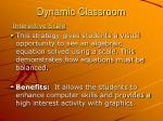 dynamic classroom