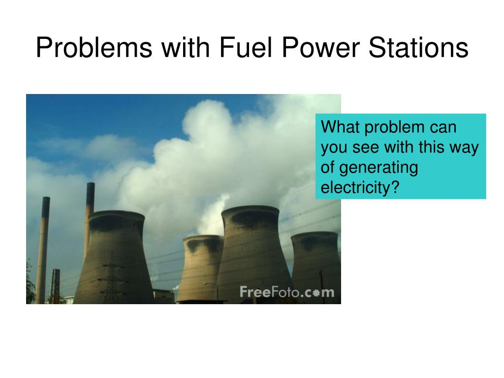 Problems with Fuel Power Stations