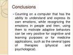 conclusions32