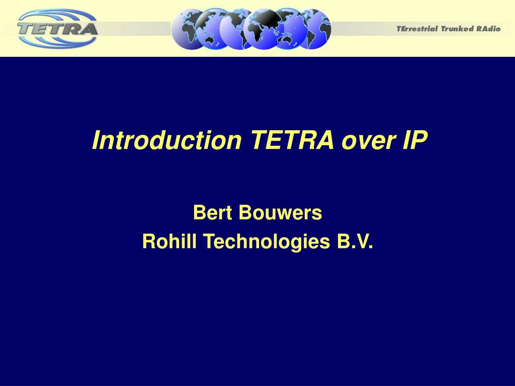 introduction tetra over ip l.