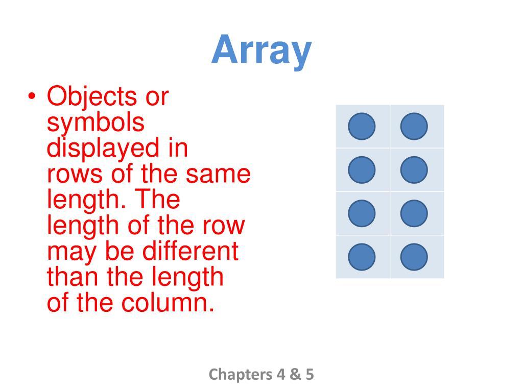 array l.