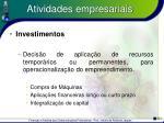 atividades empresariais13