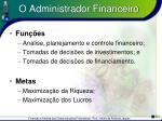o administrador financeiro16